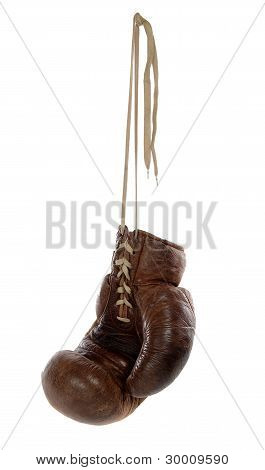 Antique Brown Boxing Glove