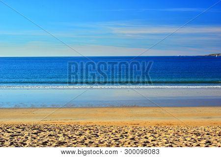 Atlantic Ocean; Giant In Calm, America Beach, Nigran