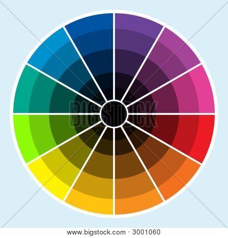 Color Wheel - Dark
