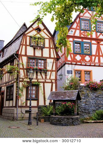 German half timbered houses