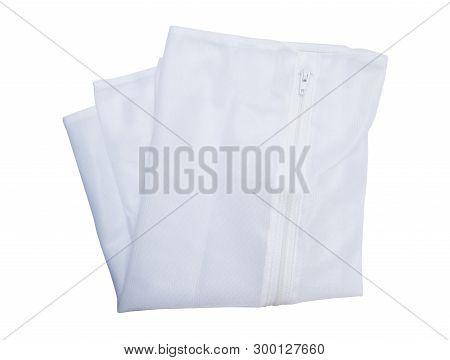 Washing Bag Isolated On The White Background