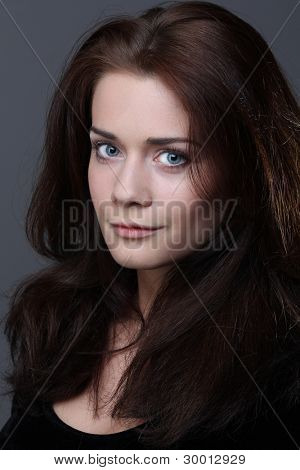 Portrait of beautiful woman