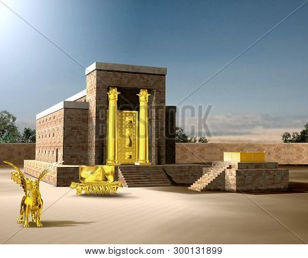 From The Old Testament, The Jewish Temple Of Solomon Was The First Holy Temple Of The Ancient Israel