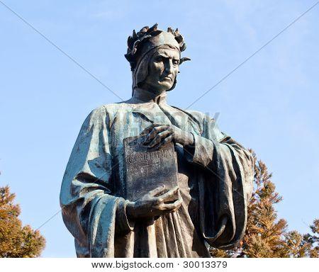 Dante Statue In Meridian Hill Park