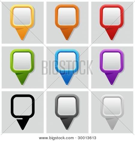 Map pins set.