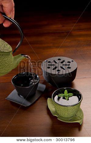 Green Tea Serving Set