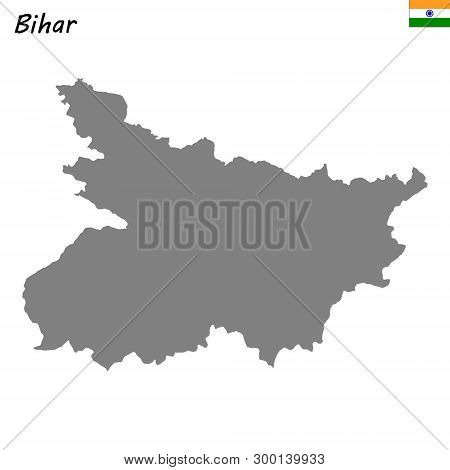 High Quality Map Of Bihar Is A State Of India