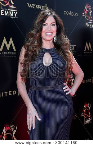 PASADENA - May 5: Lisa Guerrero at the 46th Daytime Emmy Awards Gala at the Pasadena Civic Center on May 5, 2019 in Pasadena, California