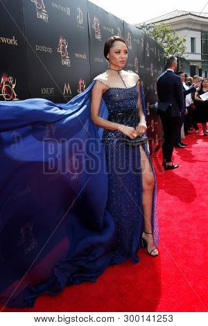 PASADENA - May 5: Sal Stowers at the 46th Daytime Emmy Awards Gala at the Pasadena Civic Center on May 5, 2019 in Pasadena, California