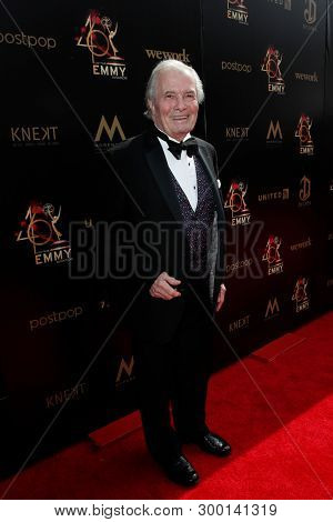 PASADENA - May 5: Jacques Pepin at the 46th Daytime Emmy Awards Gala at the Pasadena Civic Center on May 5, 2019 in Pasadena, California