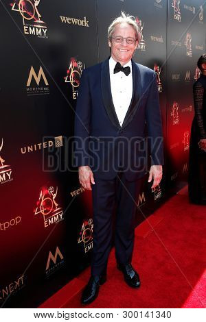 PASADENA - May 5: Mitchell Anderson at the 46th Daytime Emmy Awards Gala at the Pasadena Civic Center on May 5, 2019 in Pasadena, California
