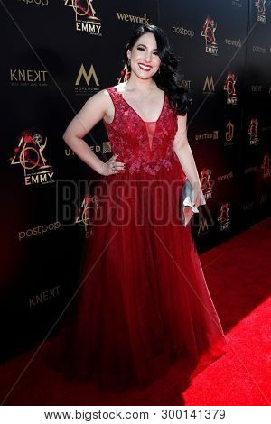 PASADENA - May 5: Alejandra Oraa at the 46th Daytime Emmy Awards Gala at the Pasadena Civic Center on May 5, 2019 in Pasadena, California