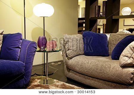 Sofa In An Interior