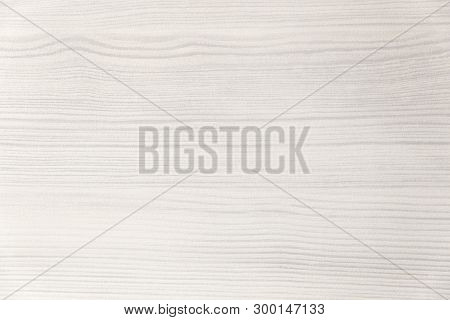 Wood Texture. Wood Texture For Design And Decoration. Color White, Milk. Fine Texture, Pattern. Blea