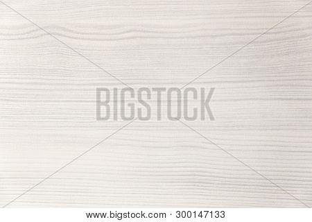 Wood Texture. Wood Texture For Design And Decoration. Color White, Milk. Fine Texture, Pattern. Blea