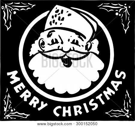 Merry Christmas 4 - Retro Ad Art Banner