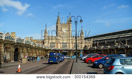 Bristol Temple Meads Raiway And Bus Station, Designed By The British Engineer Isambard Kingdom Brune