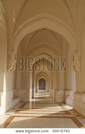 Sultanate of Oman, Archway - oriental architecture