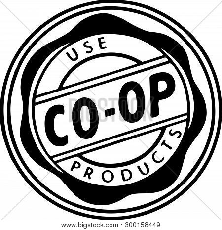 Use Coop Products - Retro Ad Art Banner