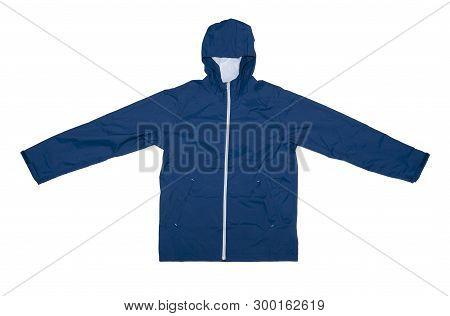 Winter Jacket Isolated On The White Background