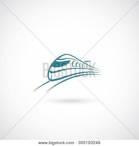 Fast Railways - Vector Illustration - Vector