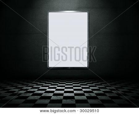 Blank Metal Frame