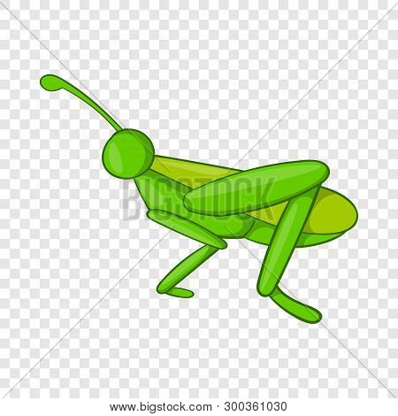 Grasshopper Icon. Cartoon Illustration Of Grasshopper Vector Icon For Web