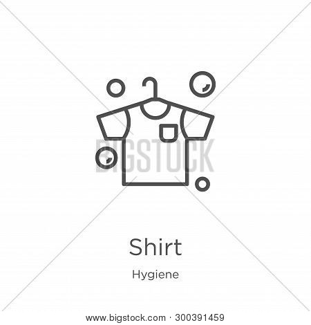 Shirt Icon Isolated On White Background From Hygiene Collection. Shirt Icon Trendy And Modern Shirt