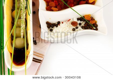 Green Olives In The Sauce