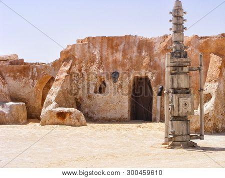 6/28/2010 - Tozeur, Tunisia: Movie Scene From The