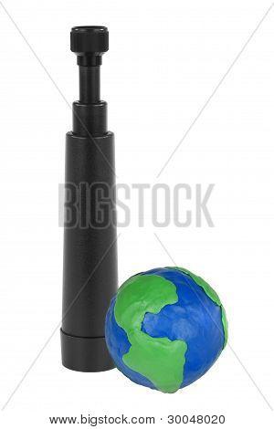Spyglass And Globe
