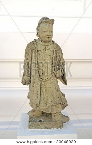 Chinese doll stucco