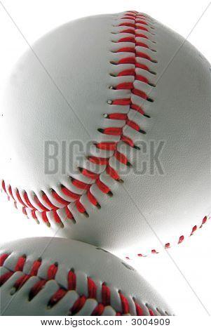 Baseballs Closeup
