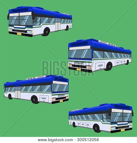 3d The Bus Driver Fare Passenger Autobus Omnibus Coach Rail Bench Chair Stool Armchair Seat Mattress
