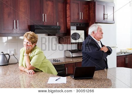 senior couple divorce
