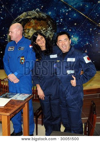 Astronauts In The Space Museum