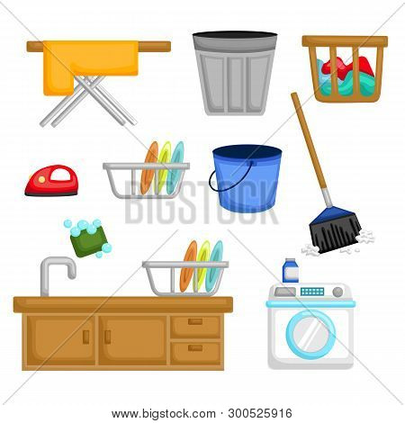 Things That We Used For Cleaning The House