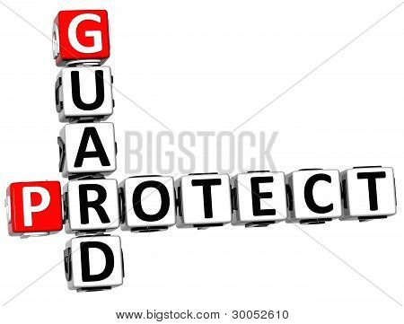 3D Protect Guard Crossword
