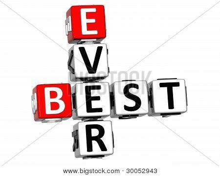 3D Best Ever Crossword