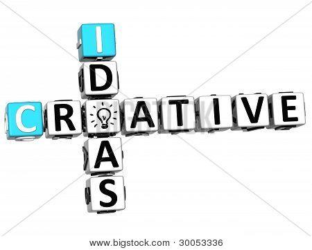 3D Creative Idea Crossword