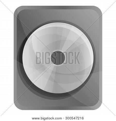 Hard Disk Icon. Cartoon Of Hard Disk Icon For Web Design Isolated On White Background