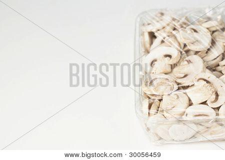 Sliced Mushrooms Packaged