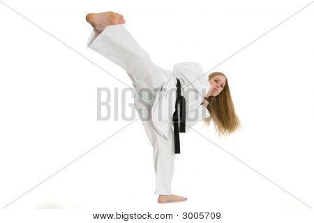 Martial Arts Woman