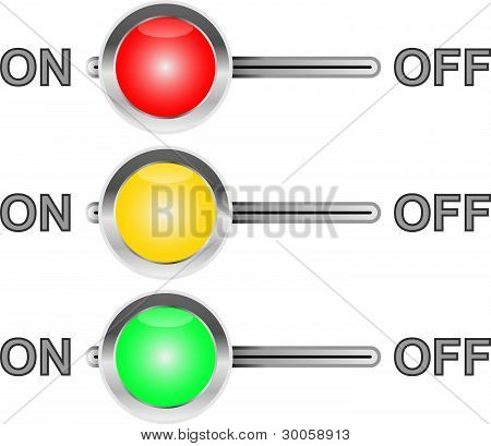 Three Colored Switches