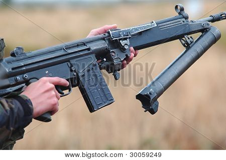 Hk-79 Mounted On A G3
