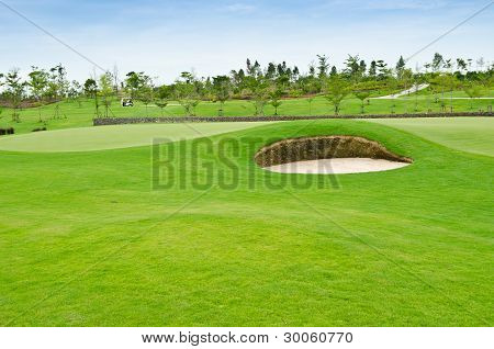 Landscape Of Golf Course
