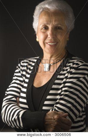 Elegant Senior Woman