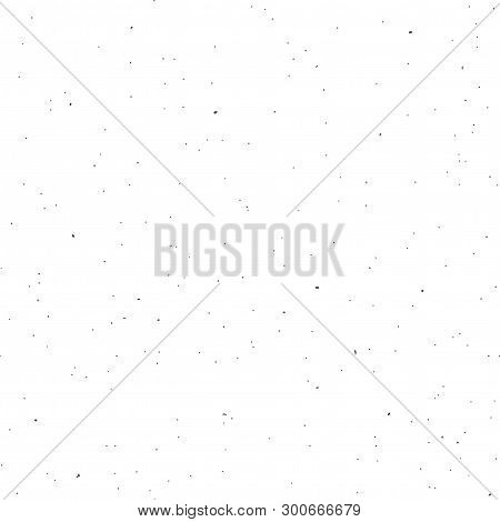 Seamless Recycled Speckled Paper. Flat Vector Background.