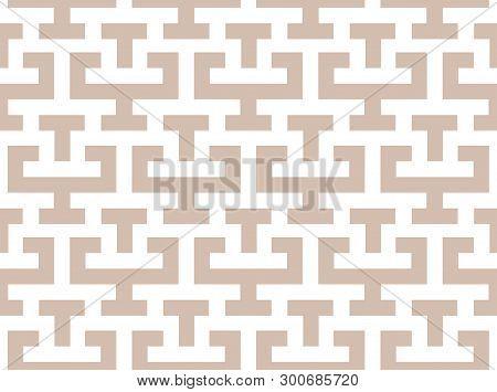 Seamless Pattern In The Greek Style, Meander Motif, Seamless Trellis Pattern, Greek Key Ethnic Seaml