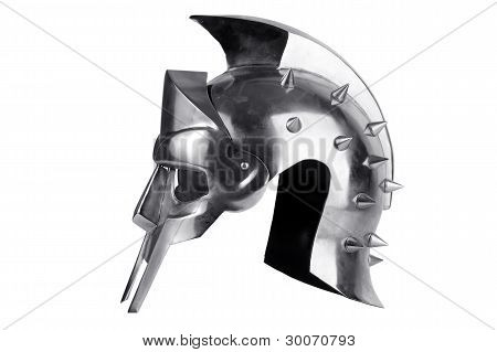 Iron Forged Roman Legionary Helmet